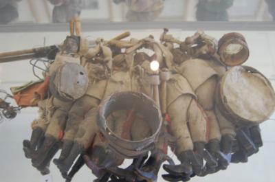 نمایشگاه عروسک های خیمه شب بازی دوران قاجار در تهران