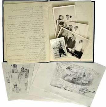اهداى عکس و کتاب