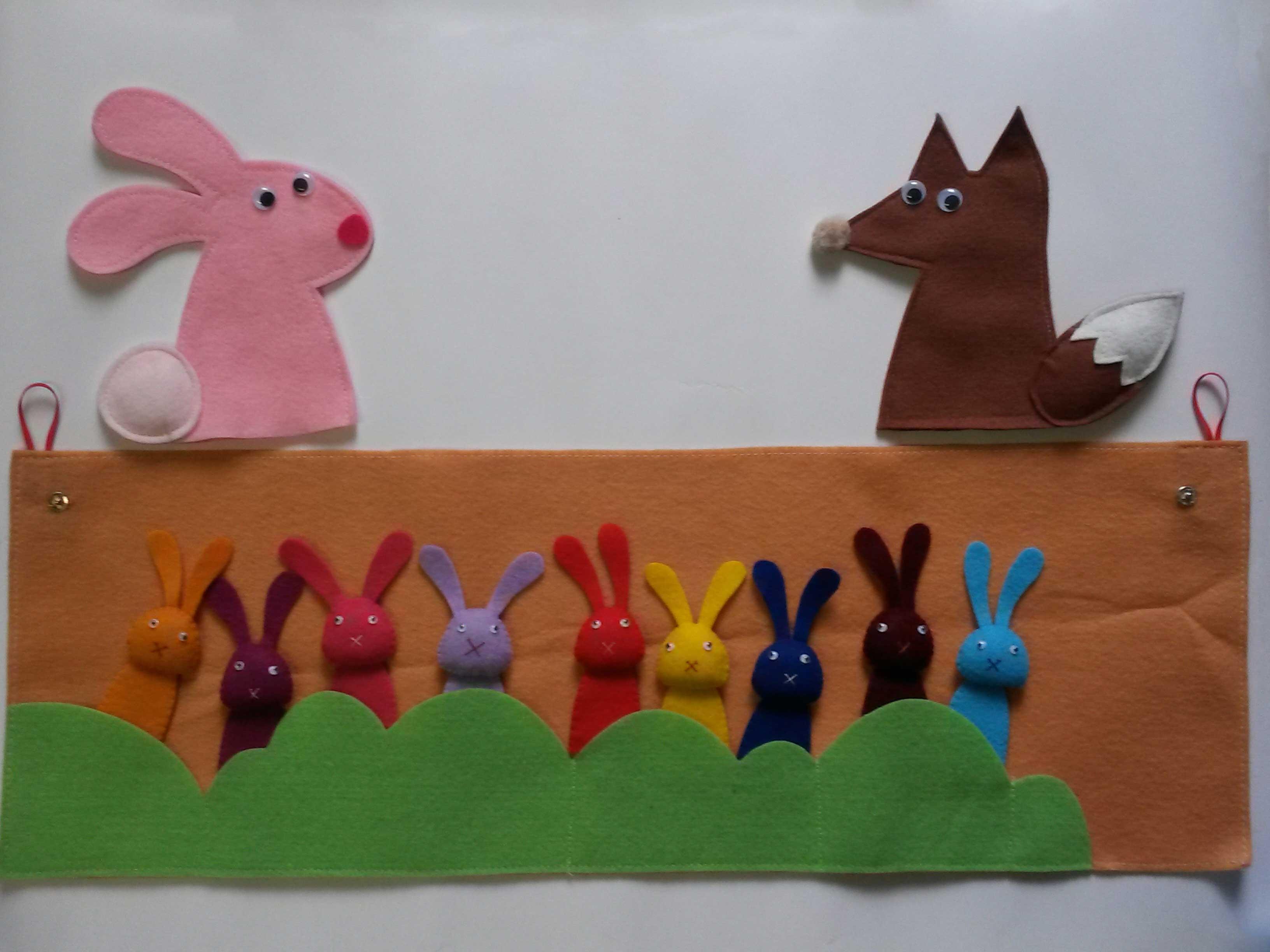 عروسک های انگشتی کتاب «چه و چه و چه یک بچه!»