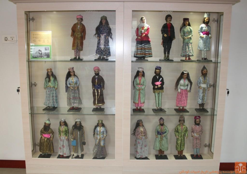 عروسک های مومی مدرسه مهران
