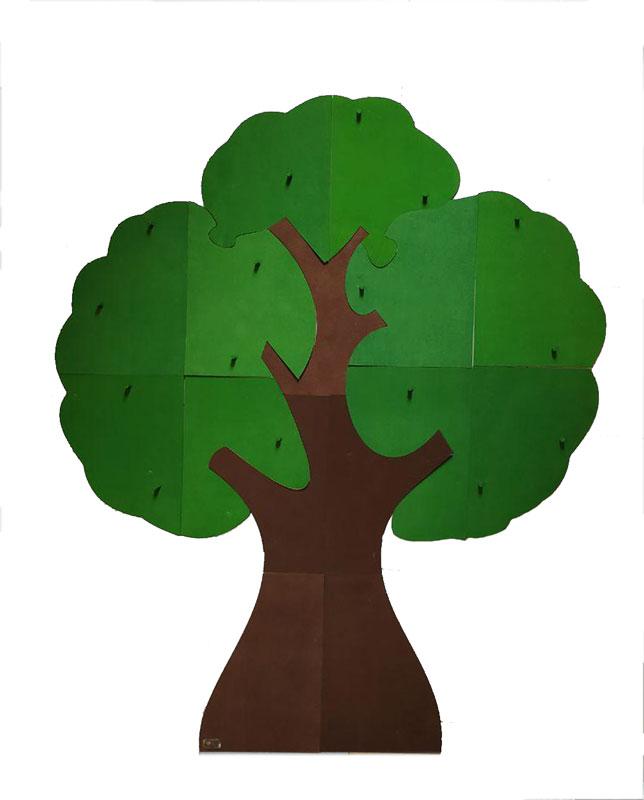 درخت چوبی الفبا