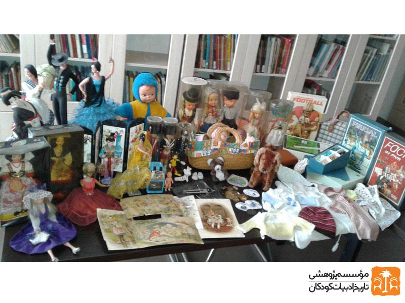 اهداییهای خانوادههای ارمنی به موزه کودکی