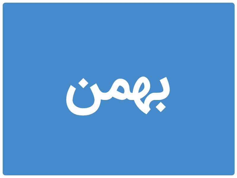 روزشمار کودکی بهمن